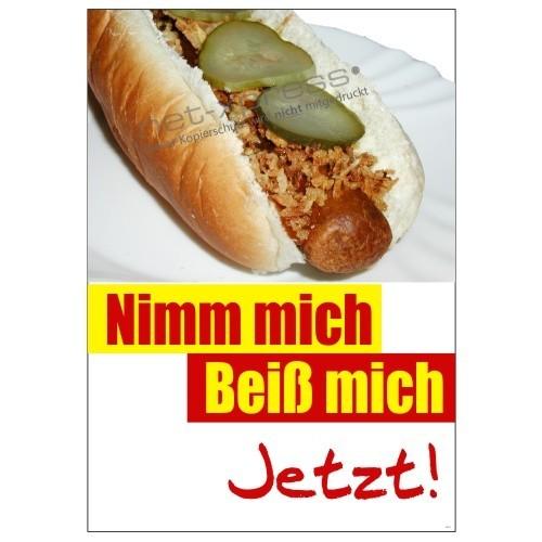 hot dog werbung