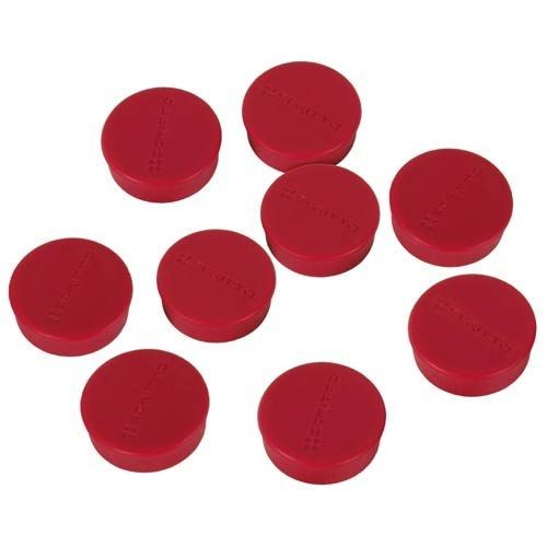 magnete 8er set rot f r whiteboard tafel wei wandtafel flipchart metall. Black Bedroom Furniture Sets. Home Design Ideas