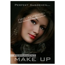 Kosmetikposter Permanent Make-up DIN A1
