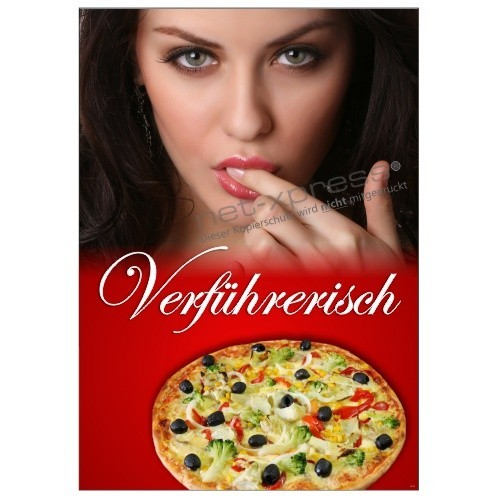 pizza poster f r pizzeria und gastronomie werbung a1. Black Bedroom Furniture Sets. Home Design Ideas
