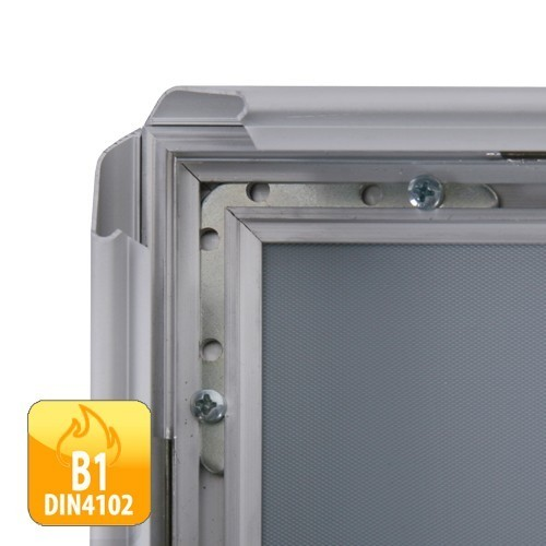 klapprahmen classic din b2 50x70cm 32mm profil b1 norm net. Black Bedroom Furniture Sets. Home Design Ideas